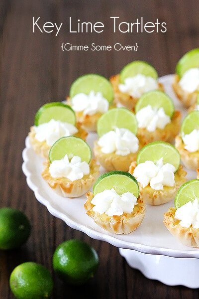 key lime pie really key lime tartlets key lime coins recipe key lime ...