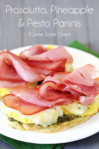 Prosciutto And Pesto Panini Recipes — Dishmaps