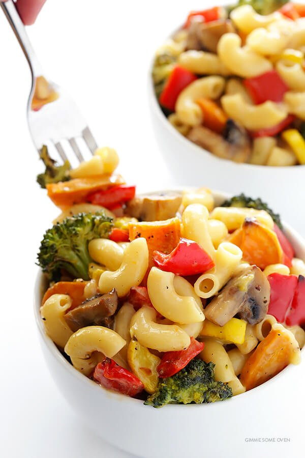 Roasted Vegetable Mac and Cheese Recipe 3