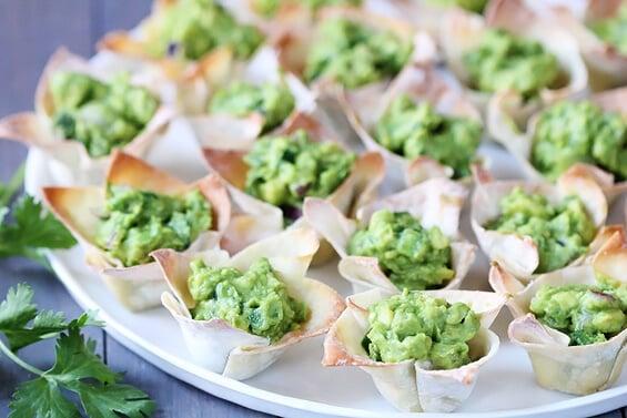 Guacamole Cups | gimmesomeoven.com