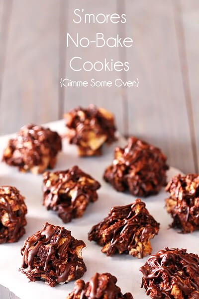 24 cookies s mores no bake cookies these delicious s mores cookies ...