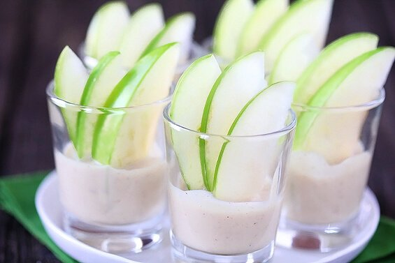 Creamy Caramel Apple Dippers (Gimme Some Oven)