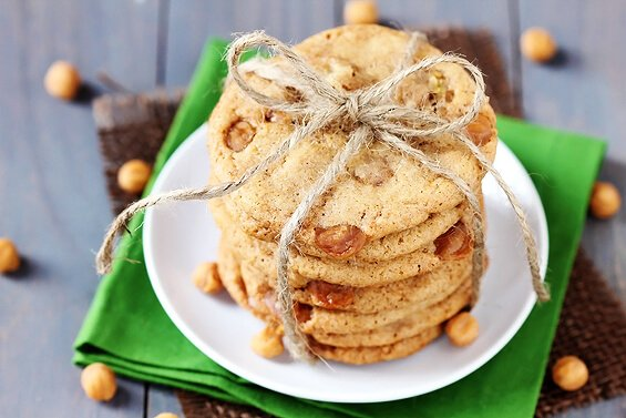 Caramel Pear Cookies