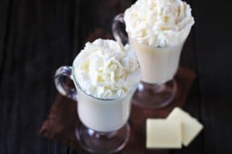 homemade white hot chocolate {Gimme Some Oven}