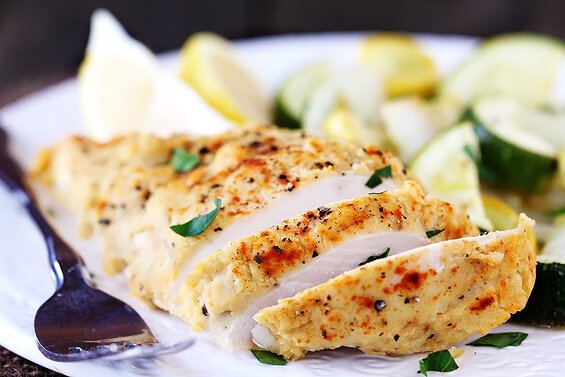 Easy crusted chicken recipes