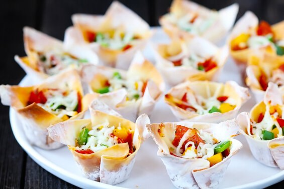 Easy Pizza Cups | Gimme Some Oven