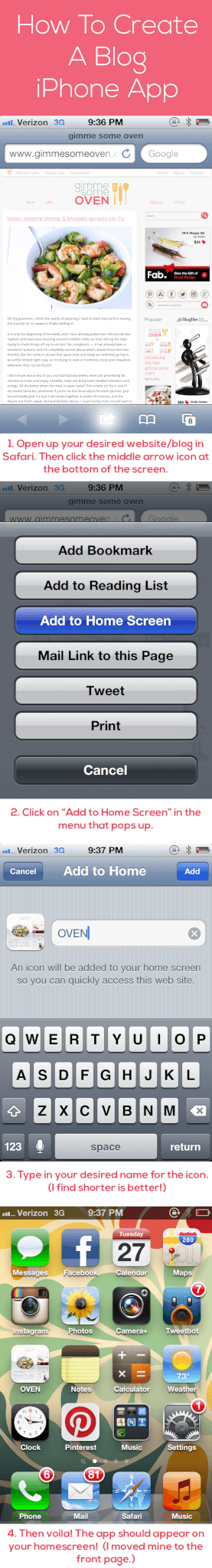 how to create an app for iphone how to create a iphone app gimmesomeoven 7674