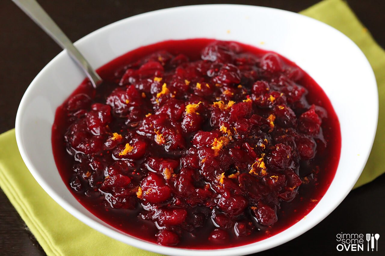 Orange Bourbon Cranberry Sauce Gimme Some Oven