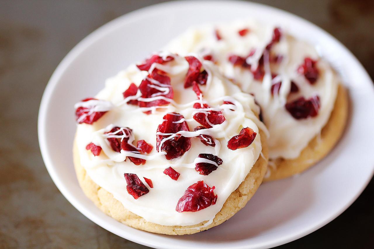 Christmas Cookie Recipes.Cranberry Bliss Cookies