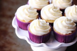 Favorite Vanilla Cupcakes {Gimme Some Oven}
