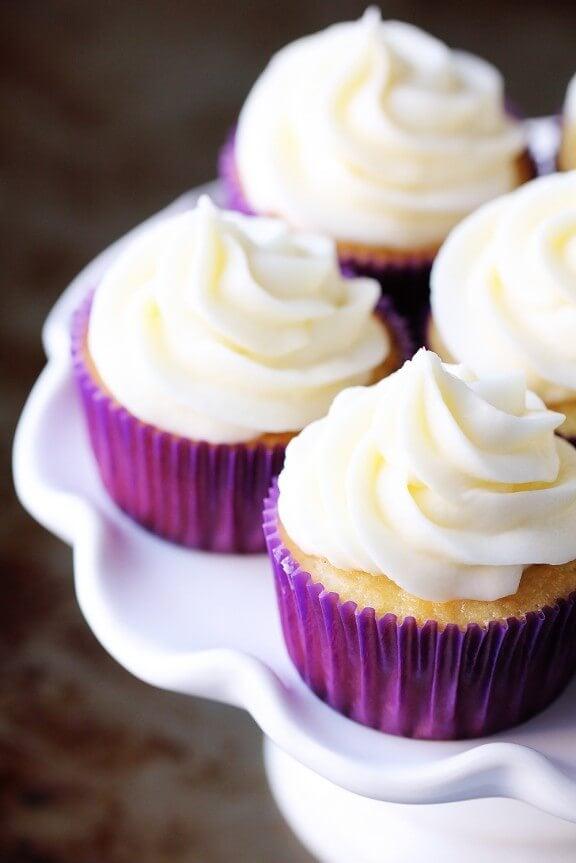 Easy homemade vanilla cupcake recipes