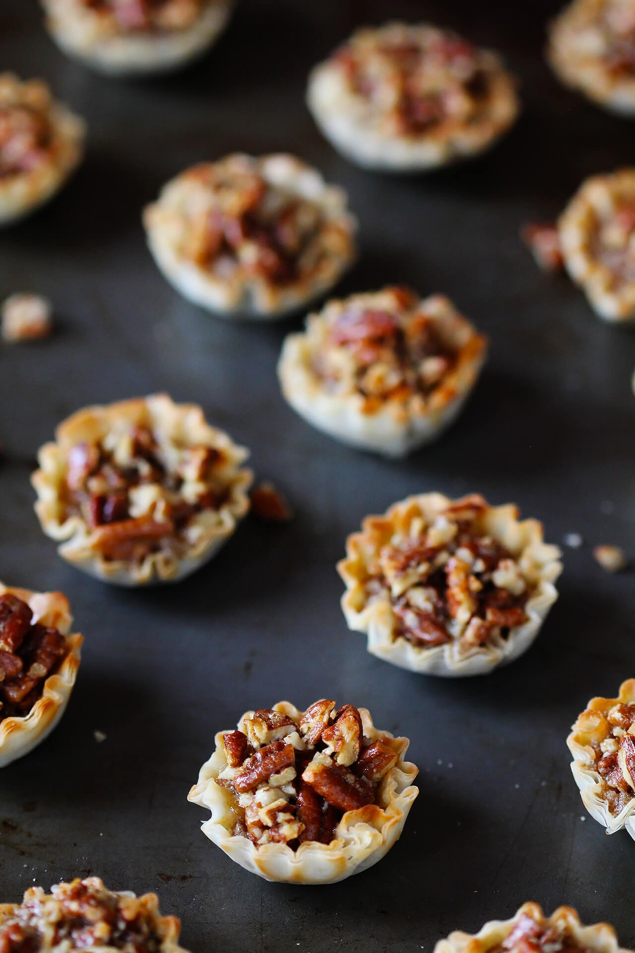 Easy Mini Pecan Tarts