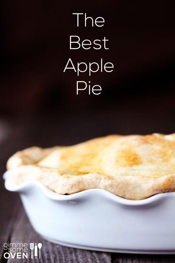 The Best Apple Pie | gimmesomeoven.com