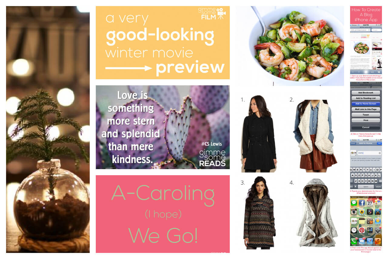 Gimme Some Weekend Roundup {12.2.12}