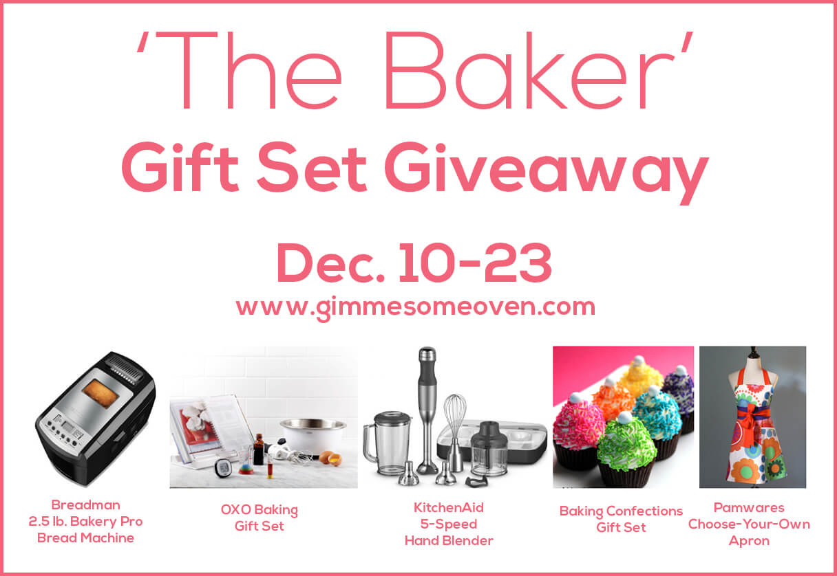 Enter 'The Baker' Giveaway | gimmesomeoven.com