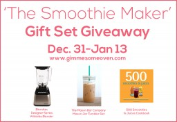the smoothie maker gift set giveaway