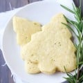 Lemon Rosemary Shortbread Cookies | gimmesomeoven.com