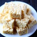 Coconut Oil Rice Krispie Treats | gimmesomeoven.com