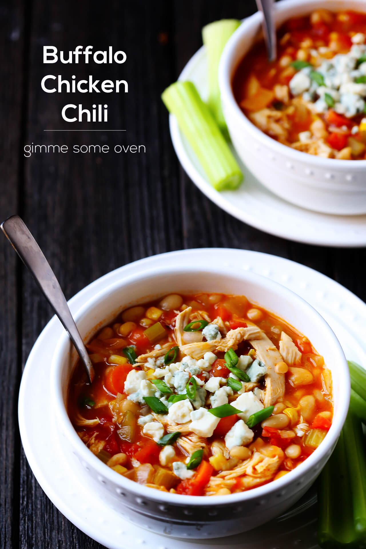 Buffalo Chicken Chili Recipe — Dishmaps