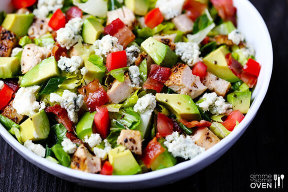 http://www.gimmesomeoven.com/chicken-bacon-avocado-chopped-salad/