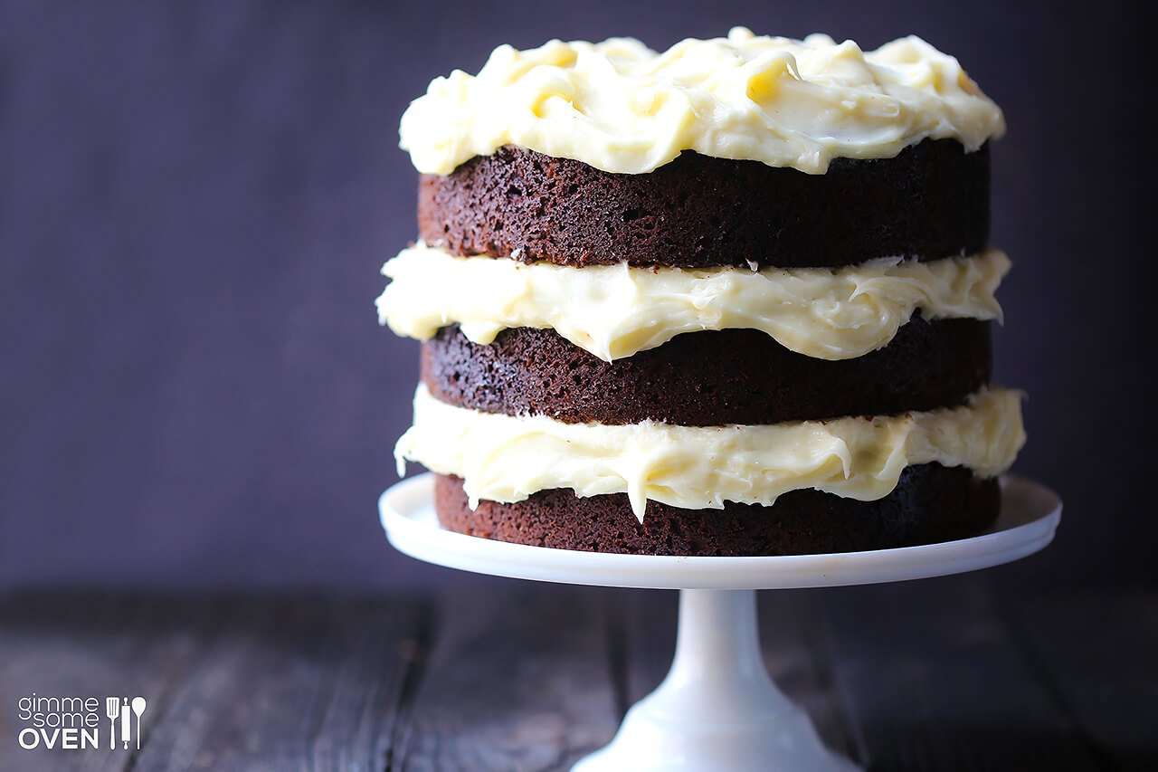 Chocolate Stout Cake With Bailey's Cream Cheese Frosting Recipes ...