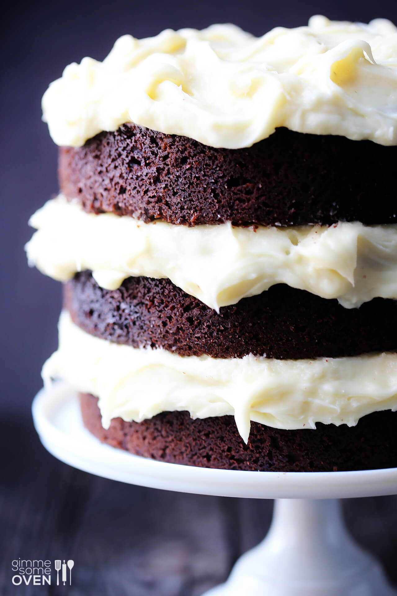 Cake With Cream Frosting : Guinness Chocolate Cake with Cream Cheese Frosting Gimme ...