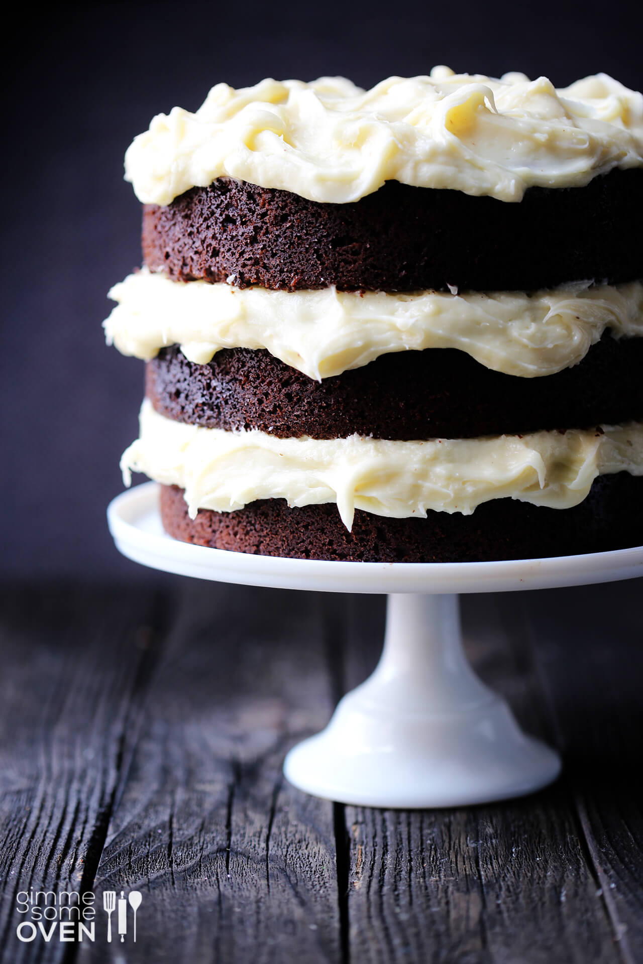 Guinness Chocolate Cake with Cream Cheese Frosting | Gimme Some Oven