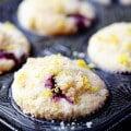 Lemon Blueberry Muffins Recipe | gimmesomeoven.com