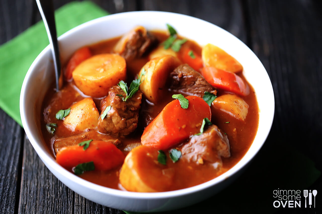 Beef And Guinness Stew Recipe — Dishmaps
