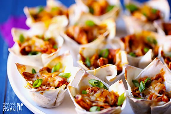 Easy Chicken Enchilada Cups | gimmesomeoven.com