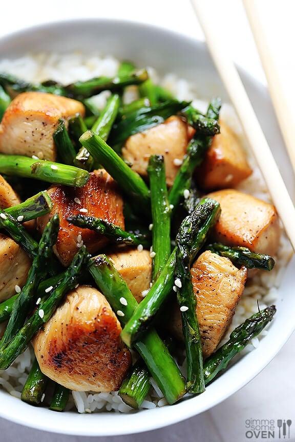 Asparagus Stir-Fry Recipe — Dishmaps