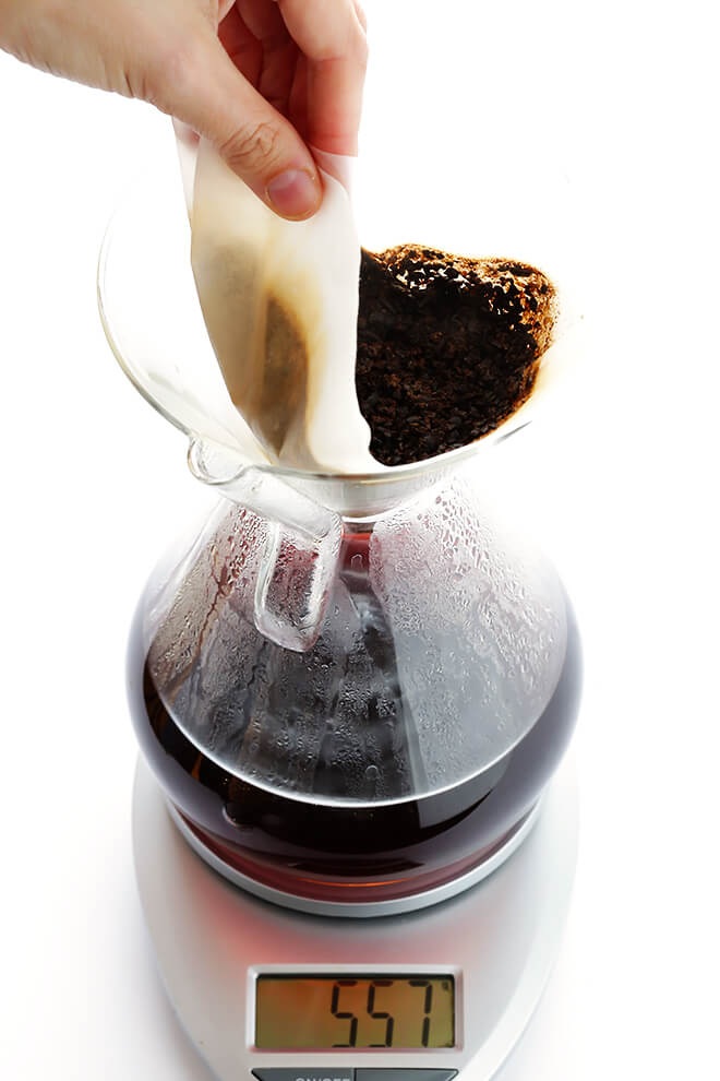 How To Make Pour-Over Coffee Chemex 5