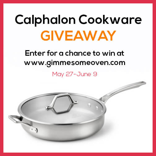 Calphalon Giveaway | gimmesomeoven.com