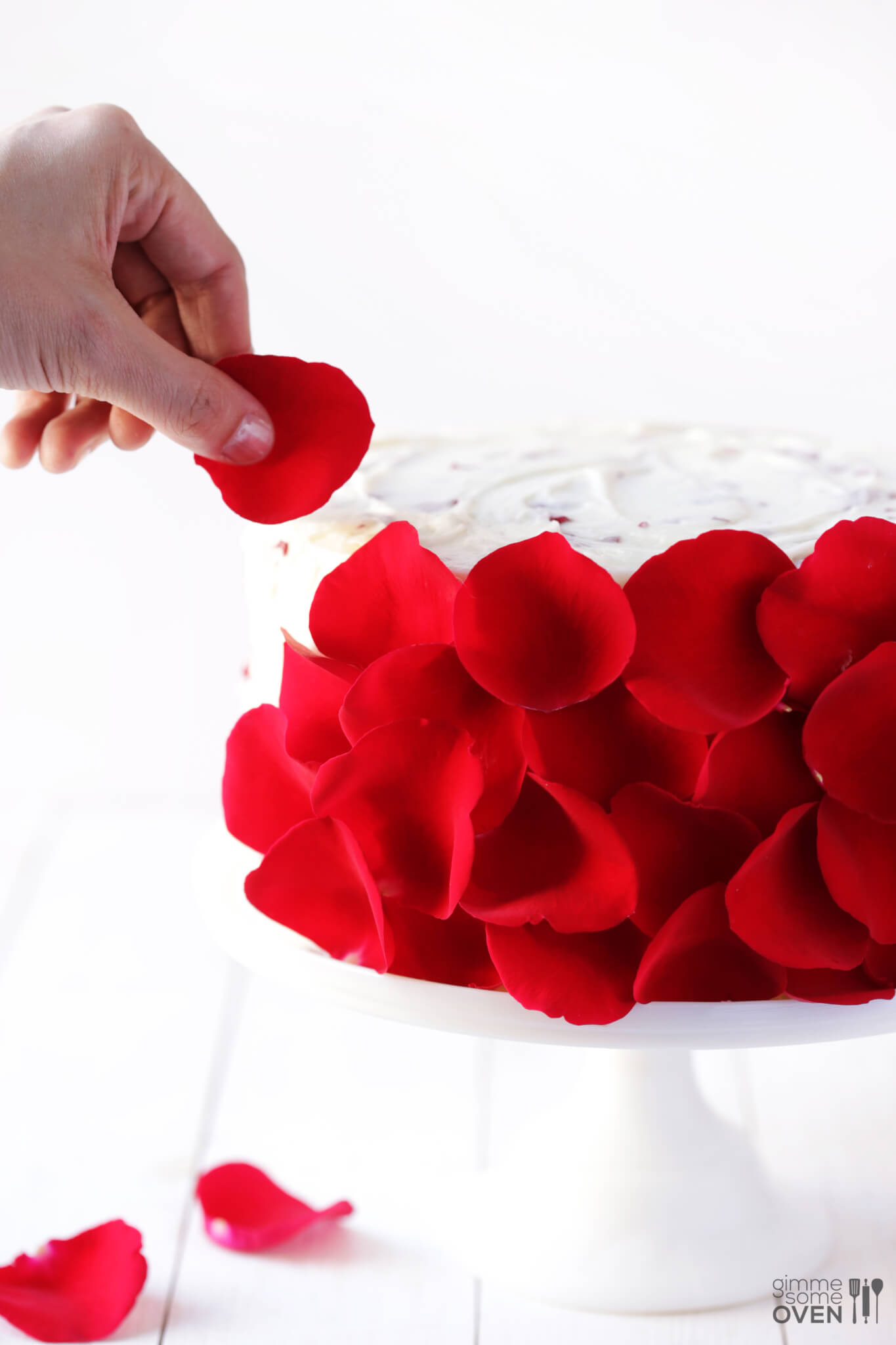 Rose Cake | Gimme Some Oven