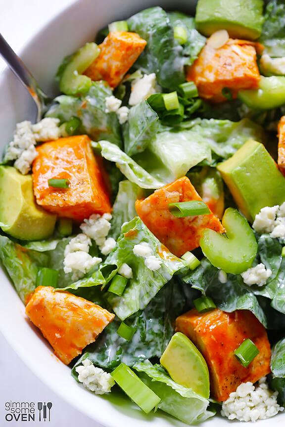 Buffalo Chicken Salad Recipe | gimmesomeoven.com