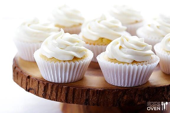Honey Lemon Cupcakes (with Honey Cream Cheese Frosting)
