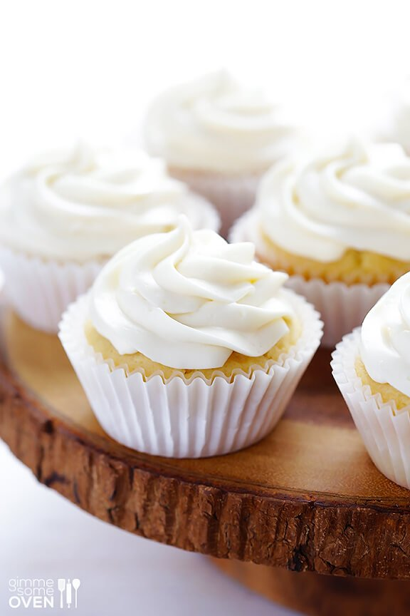 and all the sweeter with lemon honey cupcakes like these