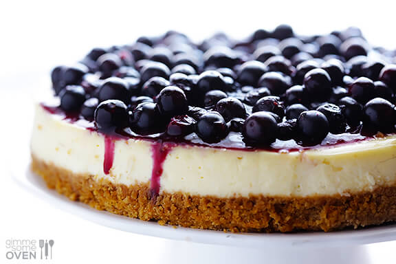 Image result for Blueberry Cheesecake