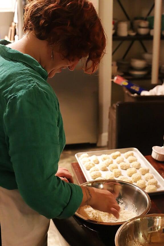Oven-Fried Chorizo Croquettes   gimmesomeoven.com