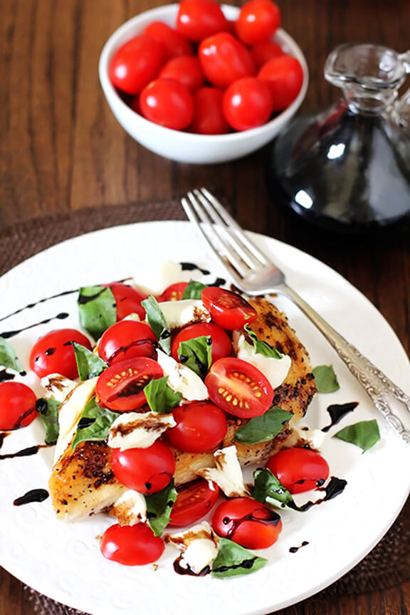 ... caprese caprese corn salad grilled chicken caprese grilled chicken