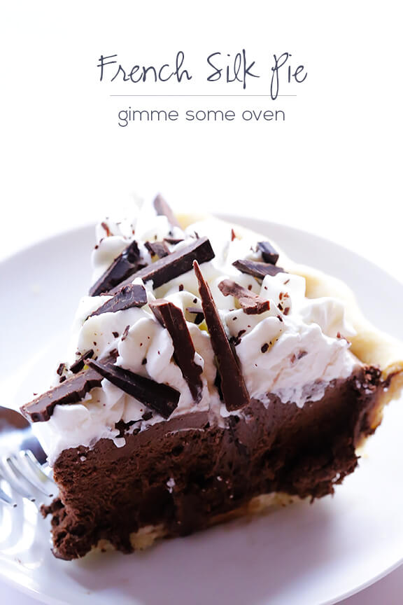 French Silk Pie (Chocolate Pie) Recipe | gimmesomeoven.com