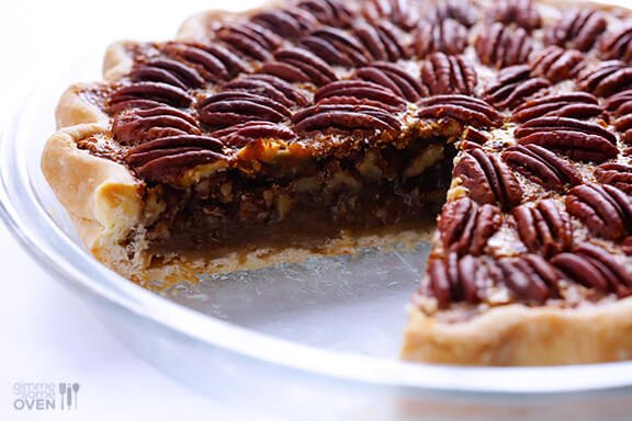 Chocolate Pecan Pie Large
