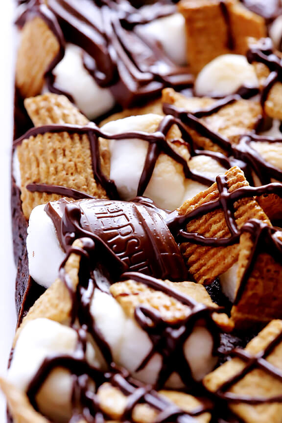 S'mores Bars Recipe | gimmesomeoven.com