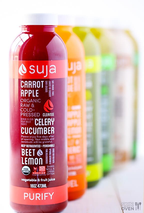 Suja Juice Cleanse GIVEAWAY | gimmesomeoven.com #giveaway