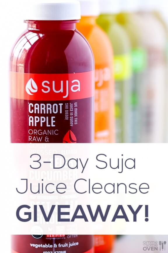 Suja Juice Cleanse GIVEAWAY 2