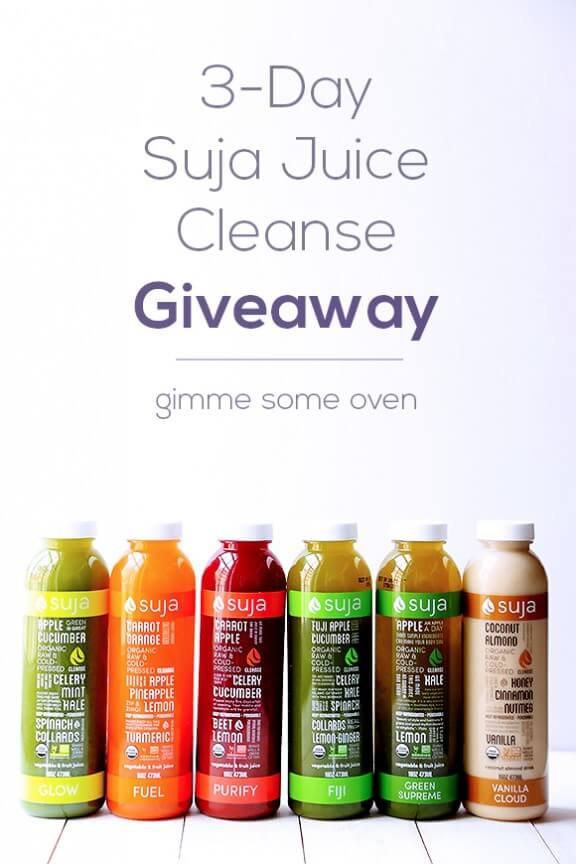 Suja Juice Cleanse Giveaway Gimme Some Oven