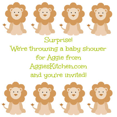 Surprise Baby Shower For Aggie