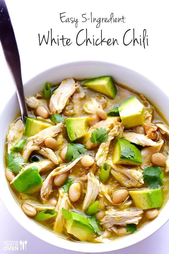 recipe: 4 ingredient white chicken chili [4]