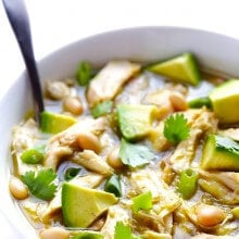 5 Ingredient Green Chicken Chili 4