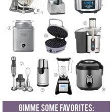 Favorite Small Kitchen Appliances | gimmesomeoven.com